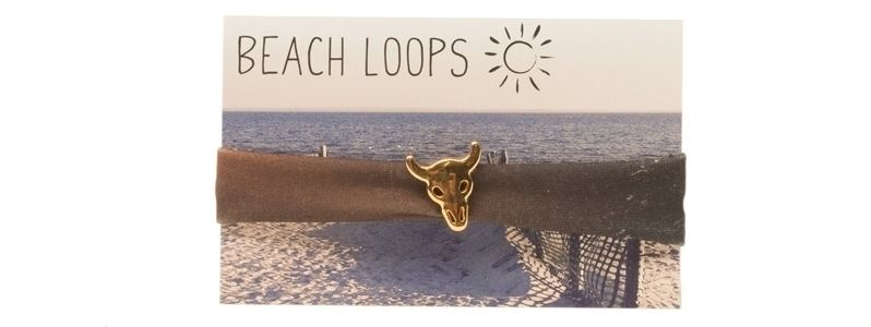 Beach Loop Stier Braun