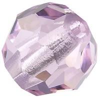 Preciosa Round Bead/Kugel, 6 mm, pink sapphire