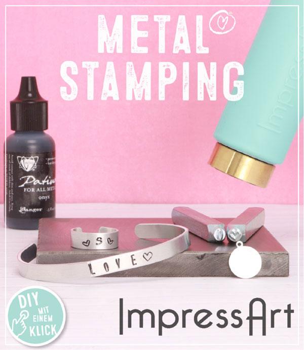 Metal Stamping. Schmuck mit Schlagstempeln selbstgemacht