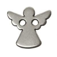 Armbandverbinder Engel, 11 mm, versilbert