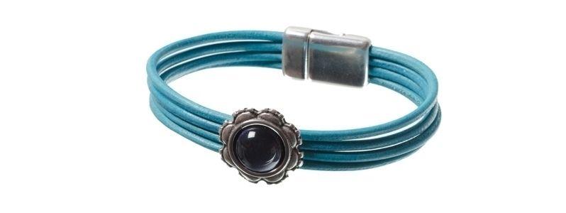 Lack-Armband Türkis