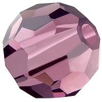 Preciosa Round Bead/Kugel, 6 mm, amethyst