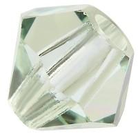 Preciosa Rondelle Bead/Bicone, 6 mm, chrysolite
