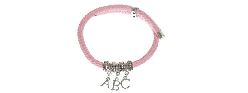 Buchstabenanhängerarmband ABC