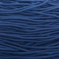 Segelseil, Durchmesser 2 mm, 10 Meter, dunkelblau
