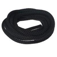 Segelseil / Kordel, Durchmesser 5 mm, Länge 1 m, schwarz