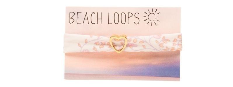 Beach Loop Herz Vergoldet
