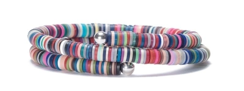 Wechselarmreif mit Katsuki Perlen Multicolor