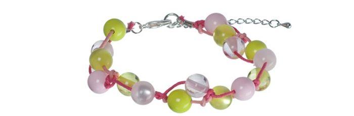 Perlknoten-Armband