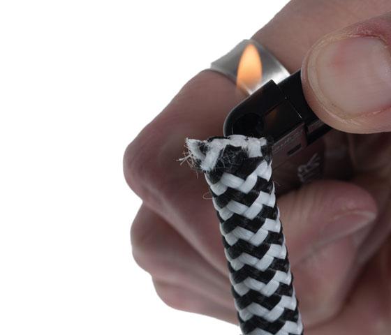 Gestreiftes Segeltauarmband machen Schritt 2