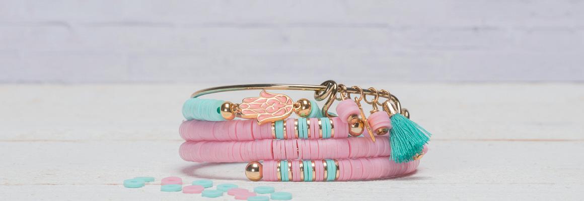 Armband mit Katsuki Perlen