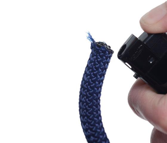 Armband mit dickem Segeltau und Anhängern Schritt 2