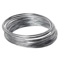 Aluminium Draht, Durchmesser 2 mm, Länge 4 m, silberfarben