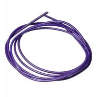 Lederband, 2 mm, Länge 1 m, lila