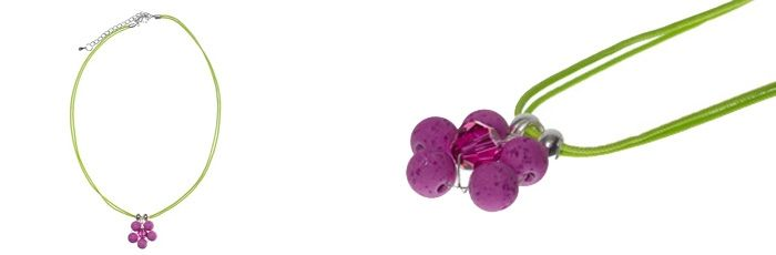Süßer Blumenanhänger Fuchsia