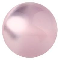 Polarisperle glänzend, rund, ca.10 mm, pastellrosa