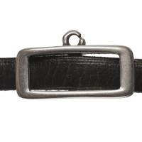 Anhängerhalter, für breite Bänder (5 x 2 mm), versilbert