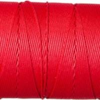 Schmuckband, Durchmesser 1 mm, rot, Länge 1 m