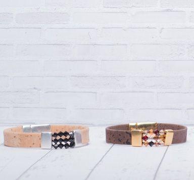 Armbänder mit neuen Endkappen