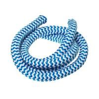 Segelseil / Kordel, Durchm. 10 mm, Länge 1 m, blau-weiß gestreift