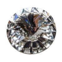 Swarovski Rivoli (1122), SS39 (ca. 8 mm), crystal