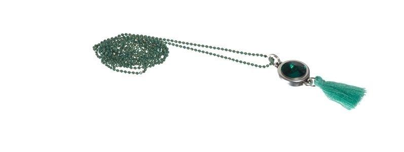 Boho-Kette Emerald