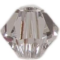 Swarovski Elements Bicone, 8 mm, crystal