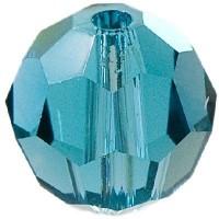 Swarovski Elements, rund, 8 mm, indicolite