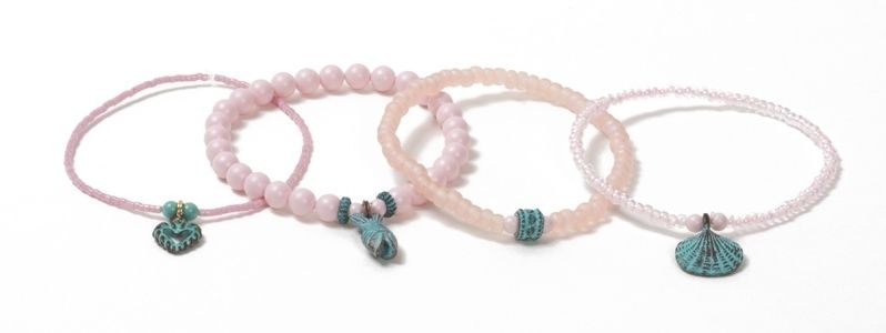 Patina Armbänder Rosa