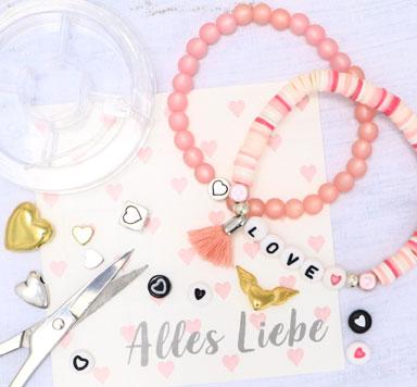 Perlen mit Herz