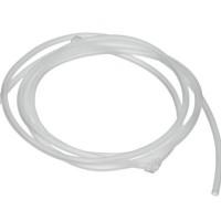 PVC-Schlauch Durchmesser 2,5 mm, matt transparent, Länge 1 m