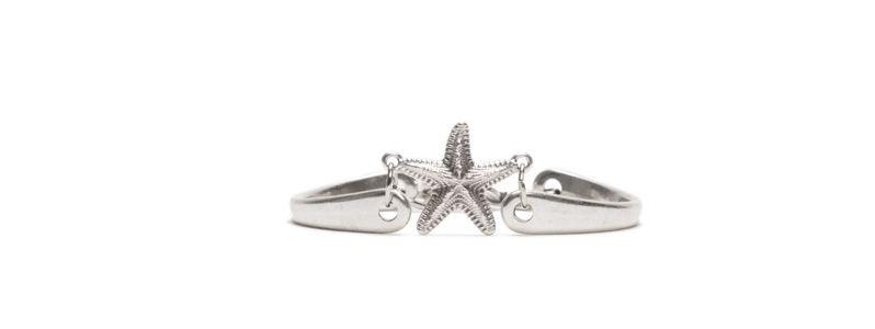 Metall Armband Seestern
