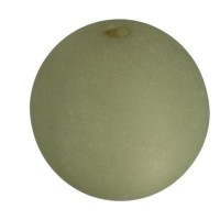 Polarisperle, rund, ca.10 mm, light khaki