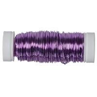 Modellierdraht Fancy Wire 0,50 mm, 50 g (ca. 25 m), lavendel