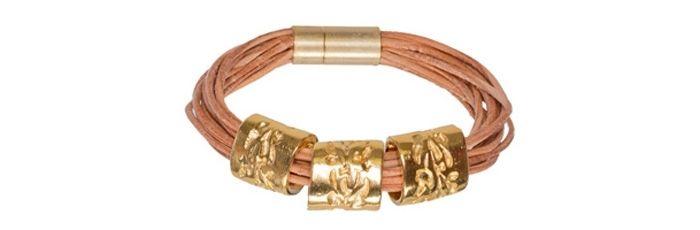 Armband Goldene Ranken