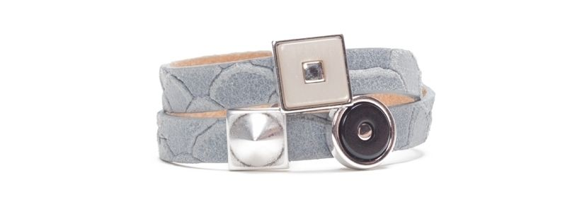 Armband mit Polaris Quadri und Tendo Cabochons Zwei