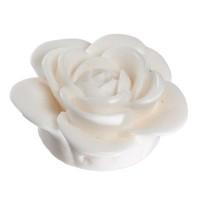 Rose, 40 mm, weiß