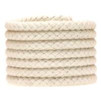Segeltau Klassik, Durchmesser 6 mm, geflochten, Baumwolle, natur, Länge 1 m