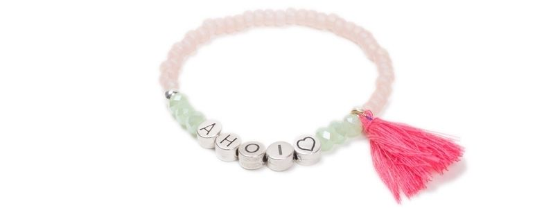 Sommer-Armband Ahoi Rosa