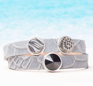 Animal Print Armbänder für Schiebeperlen