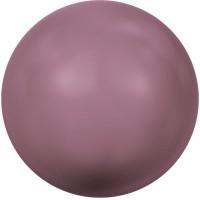 Swarovski Crystal Pearl, rund, 12 mm, burgundy