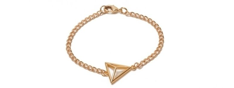 Geometrics-Armband Dreieck