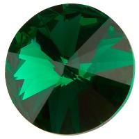 Preciosa Rivoli Maxima SS39 (ca. 8 mm), emerald DF (Dura Foiling)