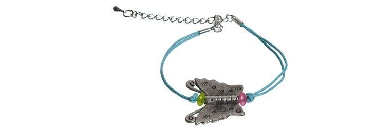 "Armband ""Bunter Schmetterling"""