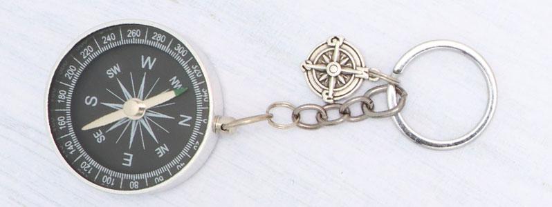 Männergeschenke Schlüsselanhänger Kompass