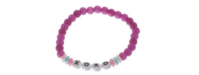 Buchstabenarmband XOXO