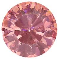 Preciosa Chaton Maxima SS39 (ca. 8 mm), light rose DF (Dura Foiling)