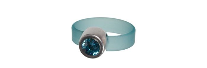 Band-Ring Aquamarine