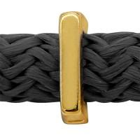 Grip-It Slider Buchstabe I, für Bänder bis 5mm Durchmesser, vergoldet