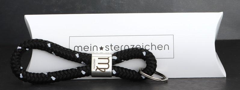 DIY Sternzeichen Schlüsselanhänger Jungfrau